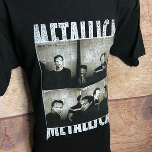 giant Shirts - VintageMetallica 90's Concert Tour Shirt M2K